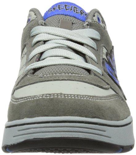 Skechers EndorseBanx 91868L Jungen Sneaker Grau (CCRY)