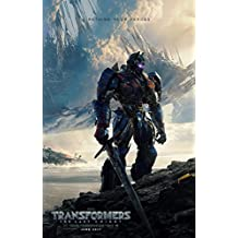 TRANSFORMERS THE LAST KNIGHT MOVIE POSTER 2 Sided ORIGINAL Advance 27x40 MARK WAHLBERG