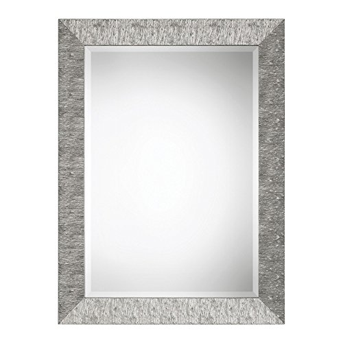 Sterling Silver Rectangular Mirror (Arcadian Home Sterling 40.5