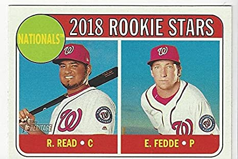 Raudy Read Erick Fedge 2018 Nationals Rookie Stars