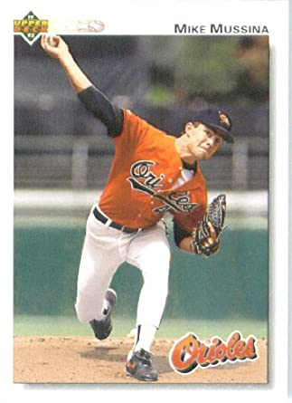 1992 Upper Deck Baseball Card 675 Mike Mussina