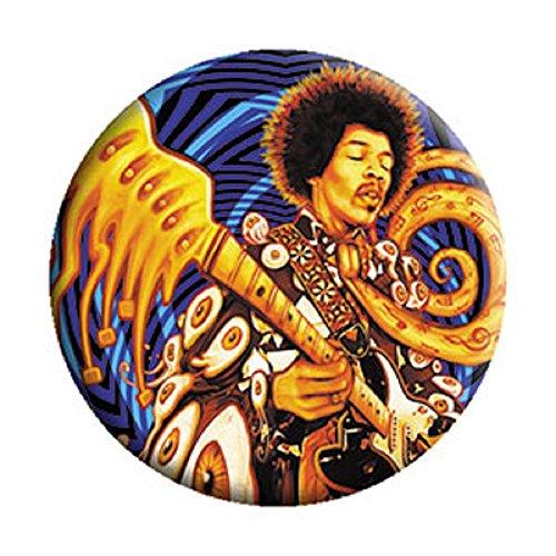 Jimi Hendrix - Sweet Music - Pinback Button 1.25