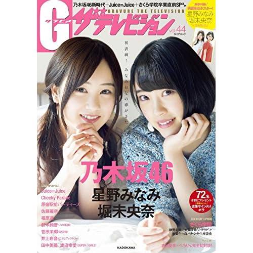 G ザテレビジョン 2016年 vol.44 表紙画像