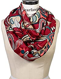 Vibrant Painting Artistic Print Infinity Scarf