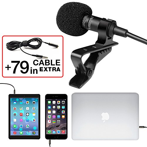 professional-grade-lavalier-lapel-microphone-omnidirectional-mic-with-easy-clip-on-system-perfect-fo