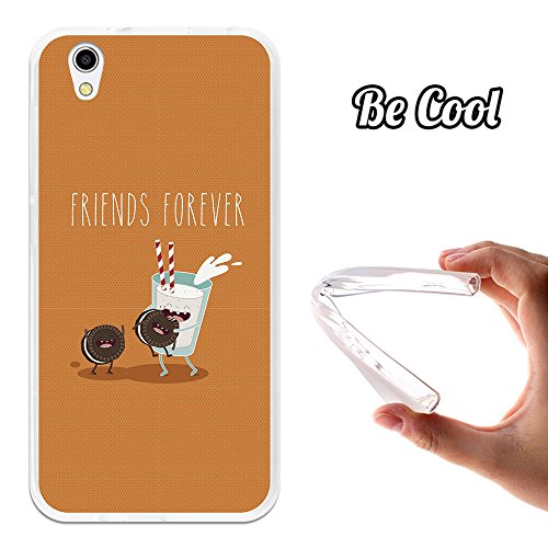 Becool - Cover Gel Flexible Umi London, protects and adapts flawlessly to your Smartphone, together with our exclusive designs. Milk and chocolate chip cookies forever - (London Milk Chocolate)