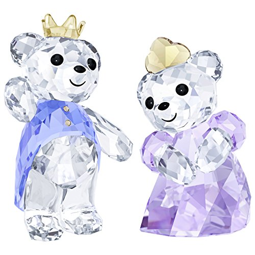 Swarovski Crystal Kris Bear- Prince & Princess Figurine New 2018 -