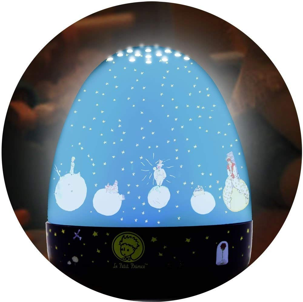 Le Petit Prince Projecteur Veilleuse manège musical Lumitusi STR8407BM