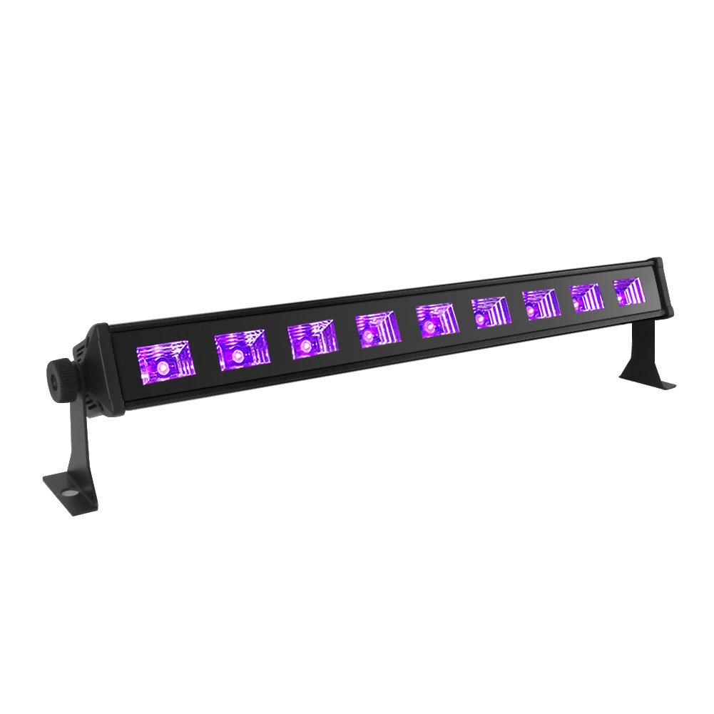 Black Light, OPPSK 27W 9LED UV Bar Glow in the Dark Party Supplies for Blacklight Party Birthday Wedding Stage Lighting