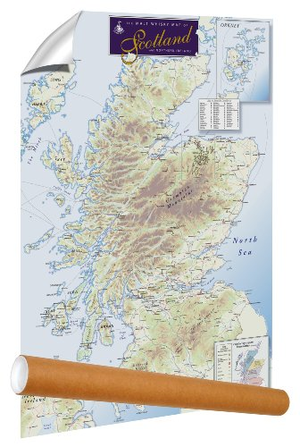 Malt Whisky Map of Scotland and Northern ()