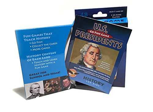 The Classical Historian U.S. Presidents Go Fish with History Book