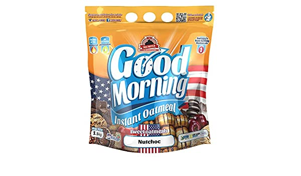Max Protein - Good Morning Instant Oatmeal, Harina de avena, 1,5kg ...