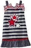 Youngland Girls 2-6X Americana Stripe Sundress, Navy/Multi, 6x image