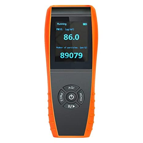 LDRAGON Detector del formaldehído del Monitor de la Calidad del Aire (HCHO), analizador