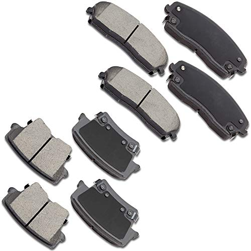 - SCITOO Ceramic Discs Brake Pads Kits, 8pcs Disc Brakes Pads Set fit for 2005-2017 Chrysler 300,2009-2017 Dodge Challenger,2006-2017 Dodge Charger,2005-2008 Dodge Magnum