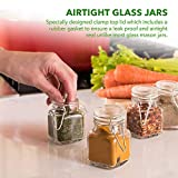 3 oz Small Glass Jars With Airtight Lids, Glass