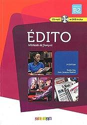 Edito Nouveau B2 Podrecznik + CD i DVD