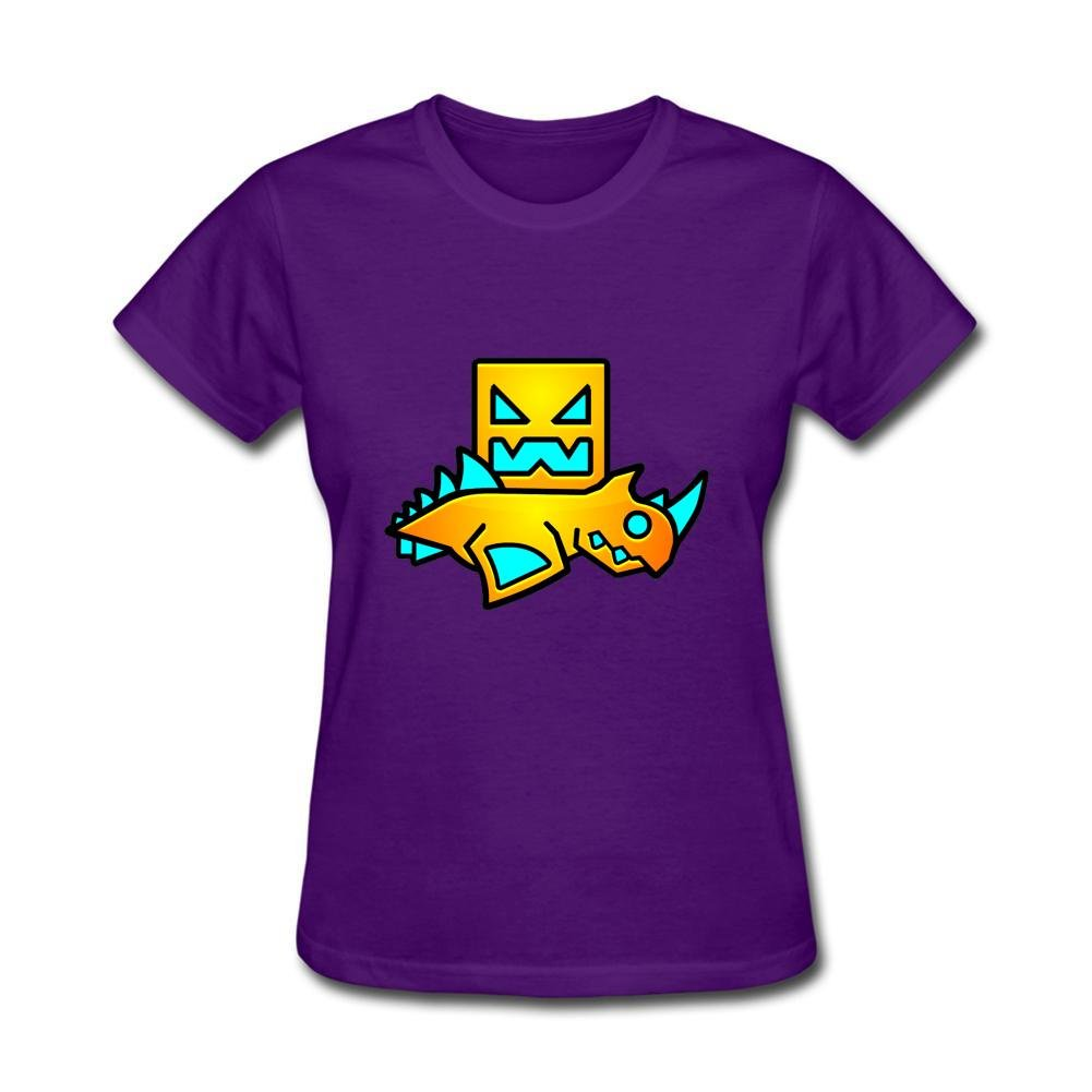 RNUER Geometry Dash Women's T-Shirts