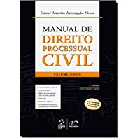Manual De Direito Processual Civil - Volume Unico