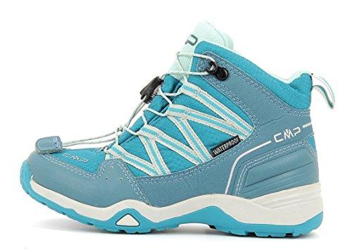 CMP Sirius Mid 3Q48364K Zapatillas infantiles de senderismo M858 (mineral blue)