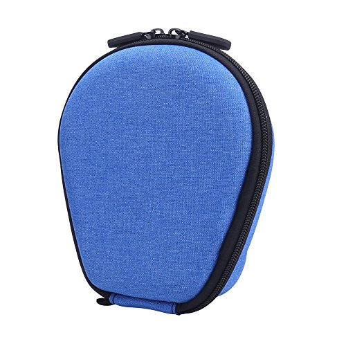 Carrying case for AfterShokz Trekz Titanium/Mini/Air Bone Conduction Headphones by Aenllosi (Blue)