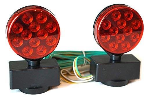 12 Volt Magnetic Led Towing Light Kit - 6