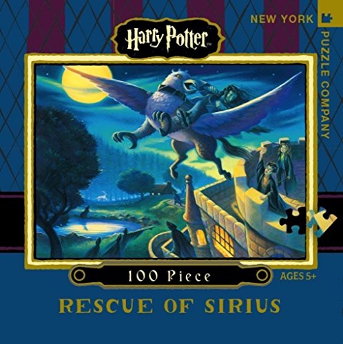 New York Puzzle Company - Harry Potter Rescue of Sirius Mini - 100 Piece Jigsaw Puzzle