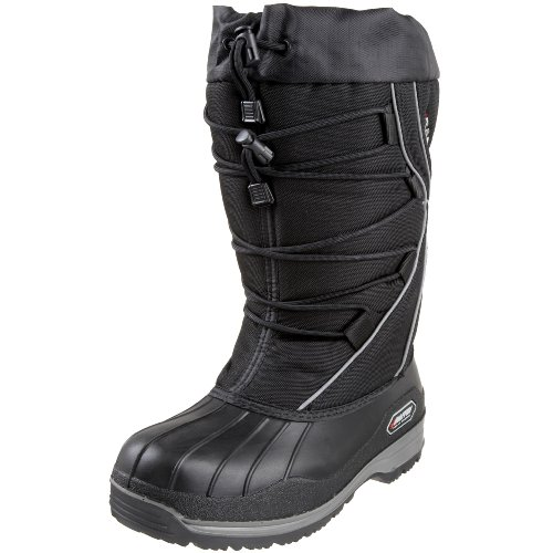 Baffin Women's Icefield Insulated Snow Boot,Black,8 M US