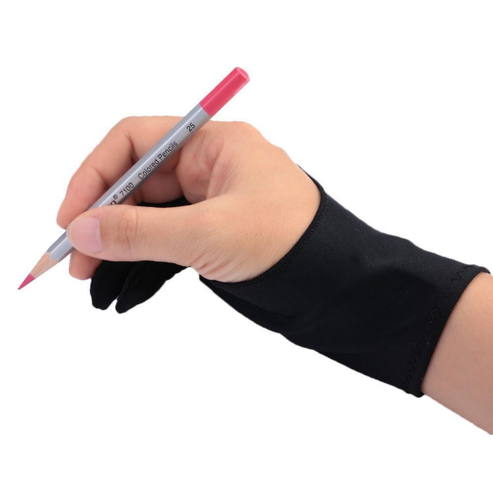 Tiptiper Artiste comprim/é Dessin Gant pour Tablette Graphique la cr/éation Artistique et iPad Pro Pen 1 Paquet