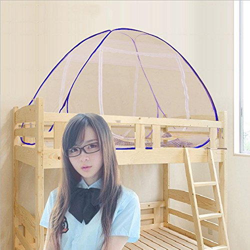 Mosquito Nets 150 * 200 * 150cm Portable Free Installation and Folding Nets Pop up Tent Mosquito Protection Double Bed,Great For Indoor and Outdoor Use