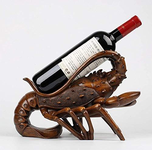 AGGL Estantería de Vino Mesa de Comedor Vitrina Resina Artesanias Decoracion Estilo Europeo Casa Producto de decoración