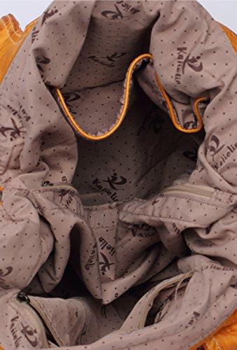PU Victory Ali Fashion Handbags Leather Shoulder Brown Hobo Women Bags Large Tote rHqwqdYB