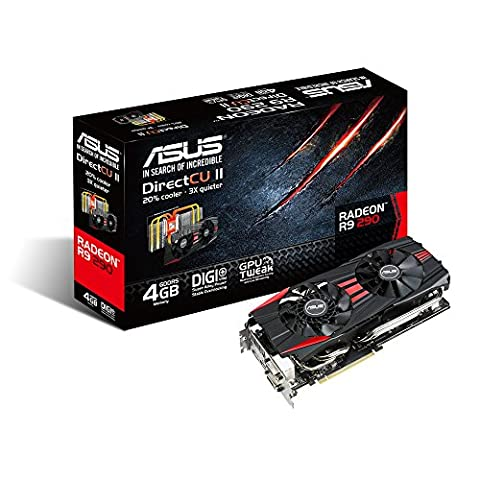 ASUS Graphics Cards R9290-DC2OC-4GD5 (Radeon 290)