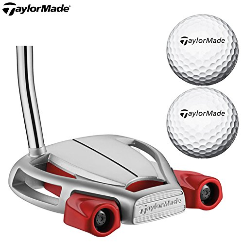 TaylorMade Men's Spider Tour Platnm Putter, Right Hand, Shaft Length 34