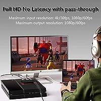 HDMI Capturadora Video Juegos, USB C HD Game Capture For PS4,PS3,Nintendo switch,Xbox one, TreasLin Grabadora de HDCP 1080P y Streaming con Mezclador de Micrófono/audio for Mac, windows, linux(TSV325): Amazon.es: Electrónica