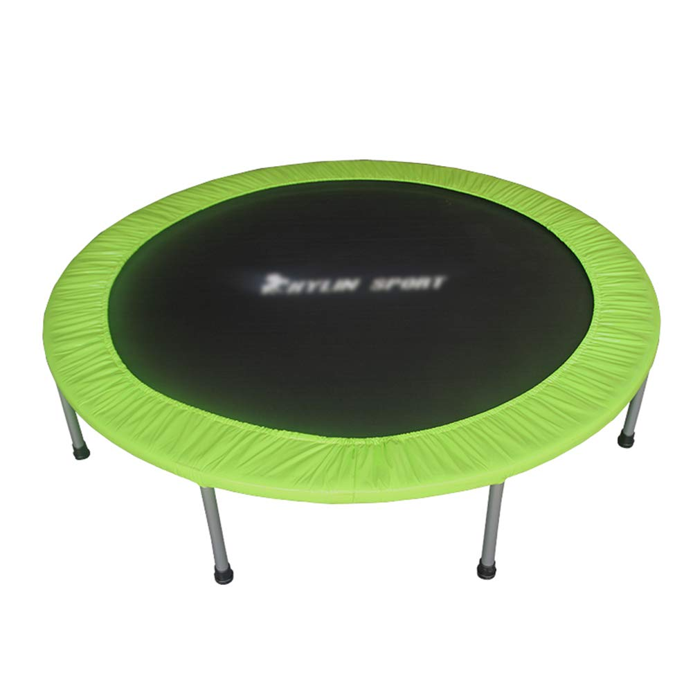 Trampoline 4.4ft mit Safety Pad für Indoor-Garten Workout Cardio Training, Indoor-oder Outdoor-Trampolin für Kinder Erwachsene