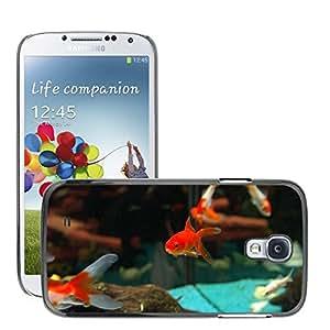 Super Stella Slim PC Hard Case Cover Skin Armor Shell Protection // M00106591 Fish Goldfish Freshwater Fish // Samsung Galaxy S4 S IV SIV i9500