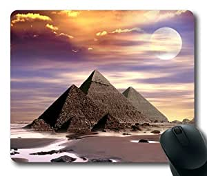 Great Egypt Pyramids 003 Rectangle Mouse Pad by Lilyshouse