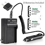 Kastar Battery (2-Pack) and Charger Kit for Pentax Optio D-LI108, D-LI63 work with Pentax Optio L36, L40, LS465, LS1000, M30, M40, M90, M900, RS1000, RS1500, T30, V10, W30 Digital Cameras