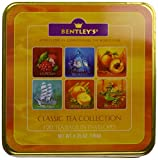 Bentley's Finest Tea Classic Collection, 120-Count Tea Bags Assorted in Tin Gift Set