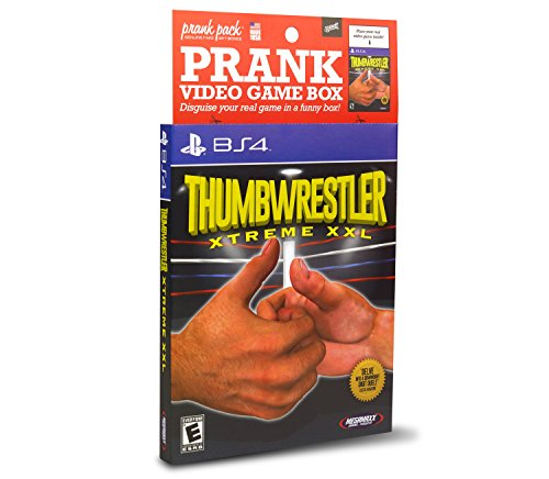 Price comparison product image Prank Pack Thumb Wrestler - Video Game Sleeve - BS4