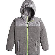 The North Face Reversible True Or False Jacket Boys' TNF Medium Grey Heather X-Large