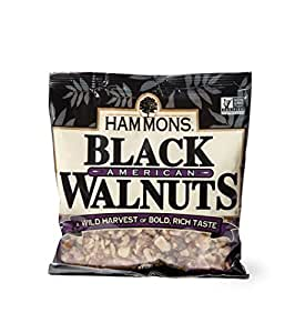 Hammons Fancy Large Black Walnuts, 8-Ounce Bag