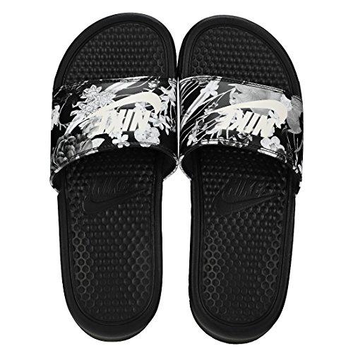 black Print Basses Benassi White Jdi 001 Nike summit Femme Multicolore Sneakers Wmns cx71WyFHOn