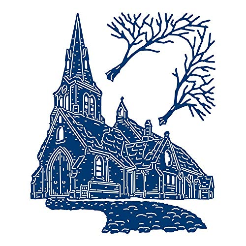 Tattered Lace Winter Church Die]()