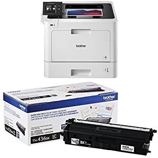 Brother Printer HLL8360CDW Business Color Laser Printer with Duplex Printing and Wireless Networking, Amazon Dash Replenishment Enabled and Super High Yield Toner-Retail Packaging , Black (B077BC27R9)   Amazon price tracker / tracking, Amazon price history charts, Amazon price watches, Amazon price drop alerts