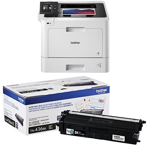 Brother Printer HLL8360CDW Business Color Laser Printer with Duplex Printing and Wireless Networking,  Amazon Dash...