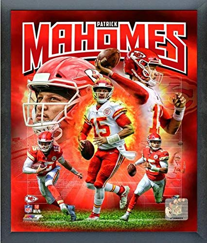 Patrick Mahomes Kansas City Chiefs 2018 Composite Photo (Size: 12