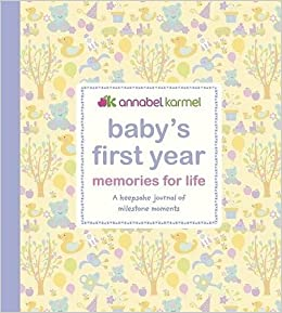 b86fec900ebb Baby s First Year Memories for Life  A keepsake journal of milestone ...