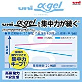 uni Alpha-Gel Slim 0.5mm Mechanical Pencil with
